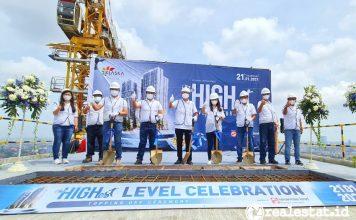 Sinar Mas Land Gelar Topping Off Tower Azure di Klaska Residence Surabaya
