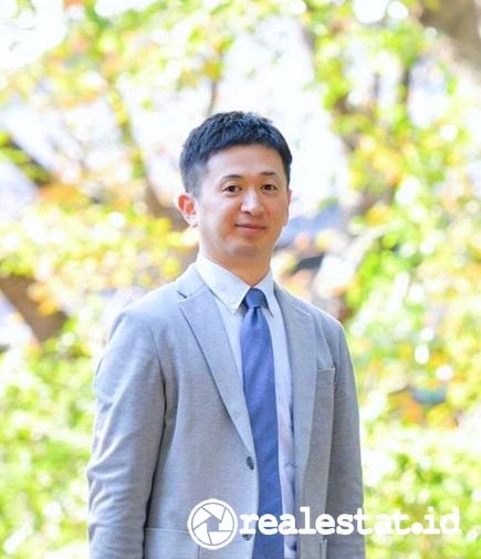 Tomoaki Kinoshita Direktur PT Jakarta Indah Makmur Nishitetsu realestat.id dok