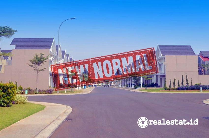 Pasar properti di era new normal.