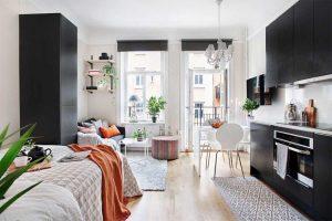 Tipe Studio menjadi salah satu unit yang banyak dipilih masyarakat untuk sewa apartemen. (Foto: Arsitag)