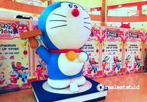 Lunar Shopping Sale Summarecon Mal Bekasi menghadirkan karakter Doraemon. (Foto: Dok. SMB)