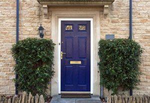 Ilustrasi pintu rumah minimalis. (Foto: pinterest)