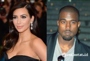 Kim Kardashian dan Kayne West (Foto: Wikimedia)