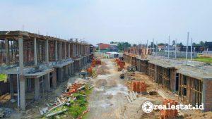 Progres pembangunan Seion, Serang, Banten di awal 2021 (Foto: MASGroup)