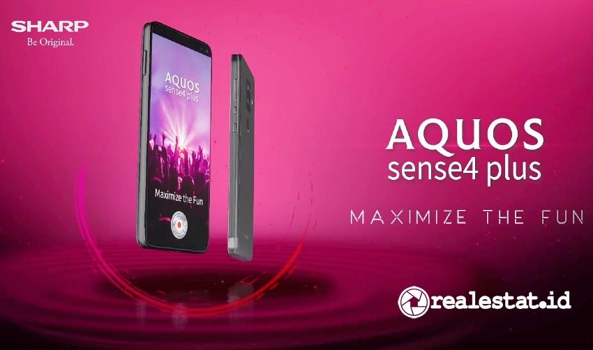 smartphone sharp aquos sense4 plus