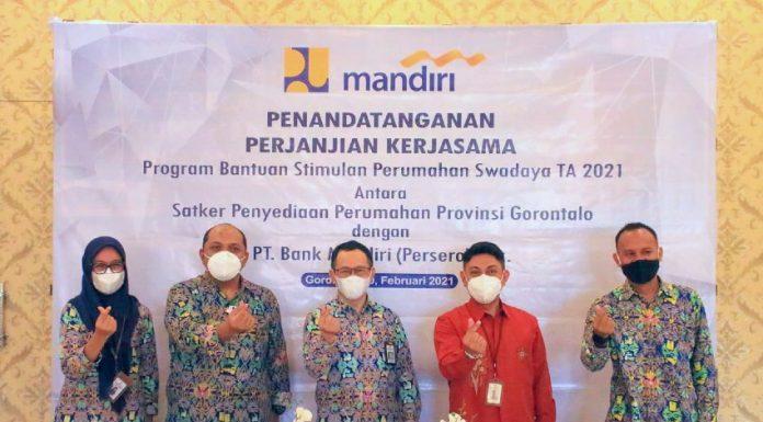 Kementerian PUPR Bank Mandiri Salurkan Dana Program BSPS Gorontalo realestat.id dok