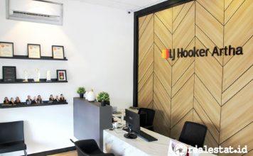 LJ Hooker Artha kantor baru property consultant 2021 realestat.id dok