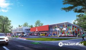 Aniva Junction,  Lifestyle Commercial Strip di Gading Serpong (Foto: Dok. Paramount Land)