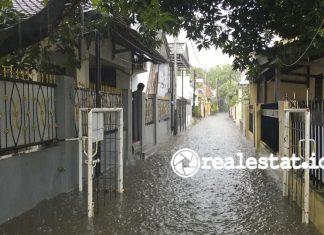 banjir jakarta, rumah bebas banjir