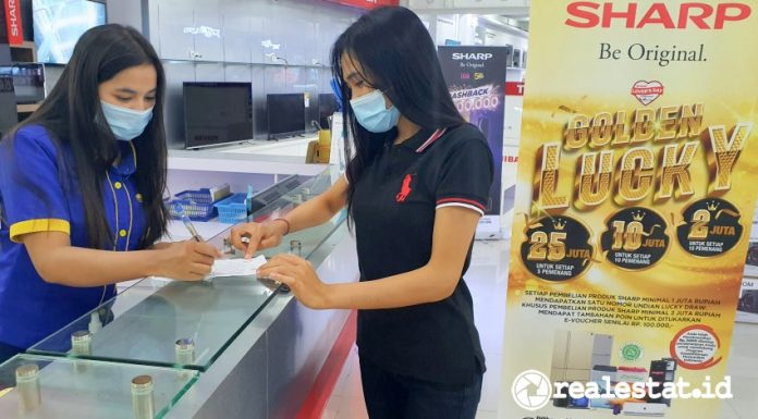 Sharp indonesia lovers day golden lucky realestat.id dok