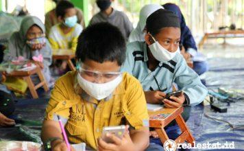 Suasana kegiatan di Panti Asuhan Indonesia Berdaia wings care realestat.id dok