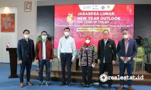 Jababeka Lunar New Year Outlook 2021 yang berlangsung di President Lounge Menara Batavia, Rabu (24/2/2021).