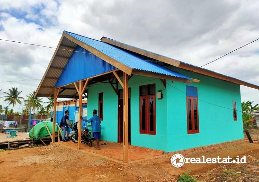 Program Bedah Rumah di Papua (Foto: Dok. Kementerian PUPR)