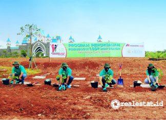 program penghijauan penanaman 1000 bibit pohon modernland cilejit realestat.id dok