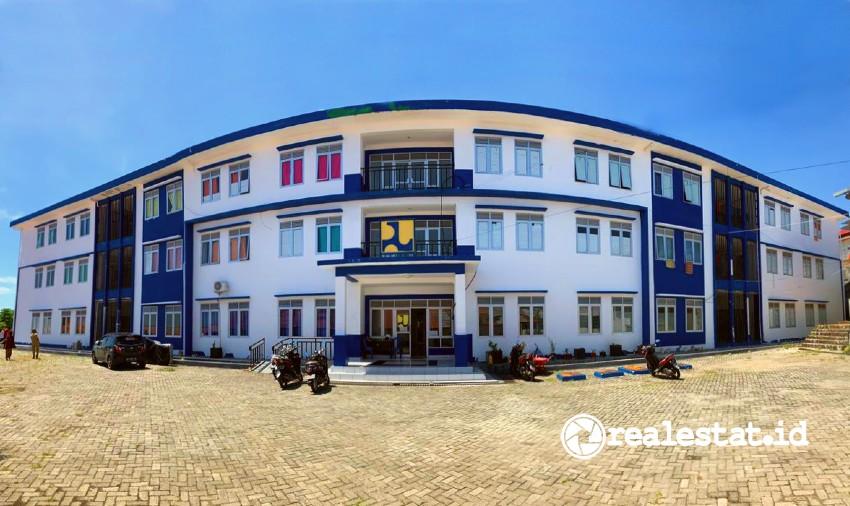 Rumah susun di Makassar (Foto: Kementerian PUPR)
