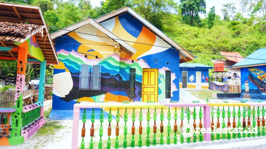 rumah program bsps bedah rumah gorontalo viral mural kementerian pupr realestat.id dok