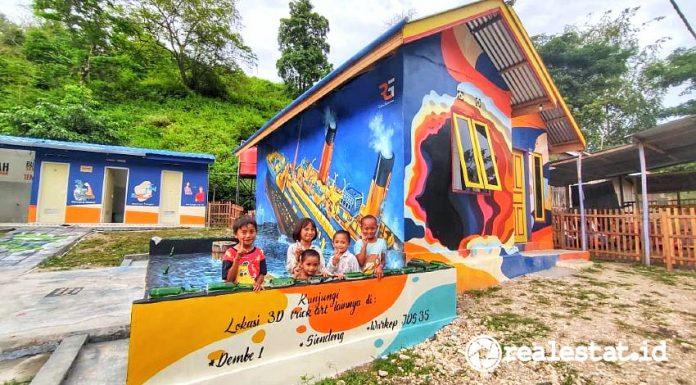 Rumah hasil Program BSPS di Gorontalo yang jadi viral. (Foto: Kementerian PUPR)