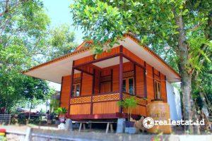 Rumah hasil program Sarhunta di KSPN Likupang. (Foto: Kementerian PUPR)