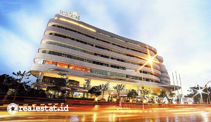 Gedung Perkantoran Spazio Surabaya (Foto: Dok. Intiland)