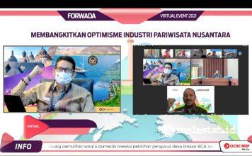 Forwada Membangkitkan Optimisme Industri sektor Pariwista Nusantara kemenparekraf realestat.id dok