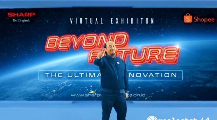 HUT ke 51 Sharp Indonesia Virtual Exhibition Andry Adi Utomo realestat.id dok