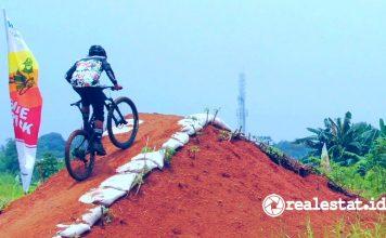 Metland Transyogi Bike Track Cross Country terbesar indonesia realestat.id dok