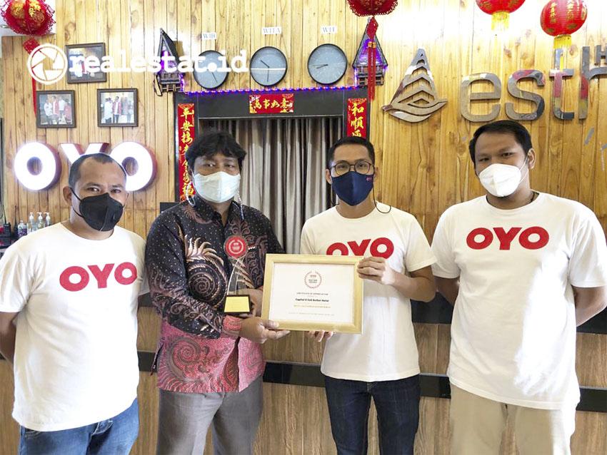 Untuk mengapresiasi kerja keras para mitranya selama ini, OYO mengadakan ajang penghargaan Mitra OYO atau Partner Awards 2021. (Foto: dok. OYO Indonesia)