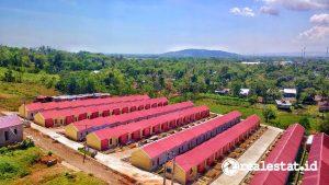 Prasarana Sarana dan Utilitas (PSU) di perumahan subsidi. (Foto: Dok. Kementerian PUPR)
