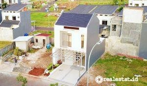 Rumah Contoh Cluster New Shinano Precast, Jakarta Garden City.