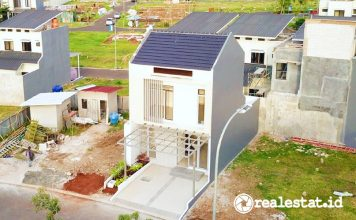 Rumah Contoh New Shinano Precast Jakarta Garden City realestat.id dok