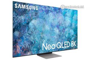 Neo QLED TV menjadi salah satu seri televisi yang diperkenalkan oleh Samsung Electroncis untuk tahun 2021. (Foto: dok. Samsung Electronics Indonesia)