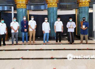 Sinar Mas Land Wakafkan Al-Qur'an kepada 3 Masjid di Kawasan Grand Wisata Bekasi realestat.id dok
