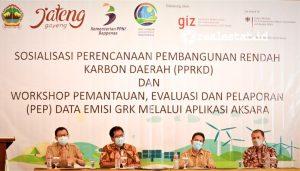 Pembangunan Rendah Karbon (PRK) memiliki dua fokus utama, yaitu  perbaikan kualitas  perencanaan  pembangunan menuju ekonomi hijau  dan pelaksanaan pada lima bidang yang terdiri dari energi lahan, industri ,limbah, dan kawasan  pesisir serta lautan. (Foto: Istimewa)