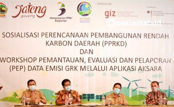 Pembangunan Rendah Karbon (PRK), Bappenas Semarang
