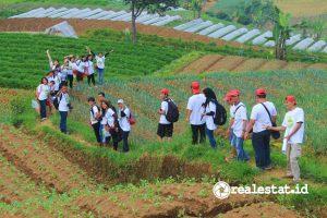 Salah satu kegiatan pelestarian lingkungan yang dilakukan Sharp Indonesia. (Foto: RealEstat.id)