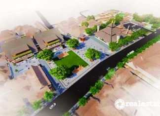 alun-alun lasem Kawasan Cagar Budaya Jateng kementerian pupr realestat.id dok
