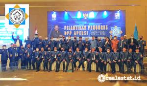 Pelantikan pengurus DPP Apersi 2021 - 2025 di Hotel Mulia, Jakarta, Kamis, 18 Maret 2021. (Foto: istimewa)