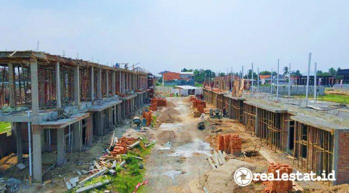 Pembangunan rumah inden (Foto: Dok. Seion Serang)