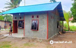 Program BSPS (Bedah Rumah) di Papua Barat. (Foto: Dok. Kementerian PUPR)