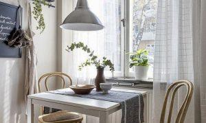 Inspirasi desain ruang makan mungil. (Foto: Decoist)