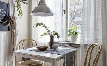 ruang makan mungil, ruang makan minimalis, dekorasi ruang makan mungil