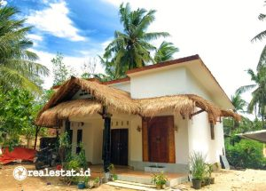 Homestay hasil Program Sarhunta di Mandalika Lombok (Foto: Kementerian PUPR)