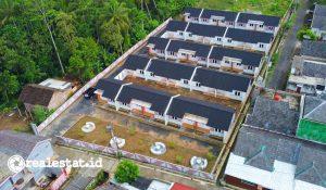 Rumah khusus (Rusus) MBR di Magelang (Foto: Kementerian PUPR)