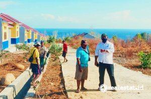 Rumah khusus (Rusus) bagi warga Belu, NTT yang berbatasan dengan Timor Leste. (Foto: Dok. Kementerian PUPR)