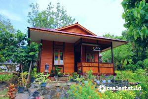 Rumah program Sarhunta di Likupang (Foto: Kementerian PUPR)