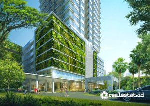 Proyek Apartamen Samara Suites. (Foto: Synthesis Development)