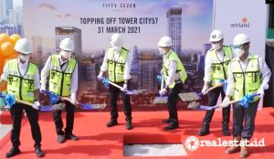Topping Off Tower City 57 Promenade.