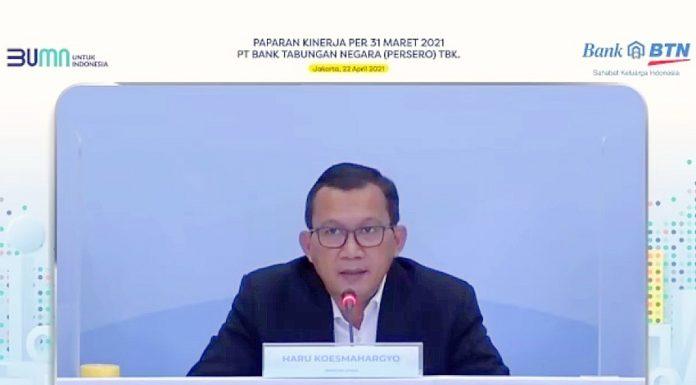 Haru Koesmahargyo, Direktur Utama Bank BTN.
