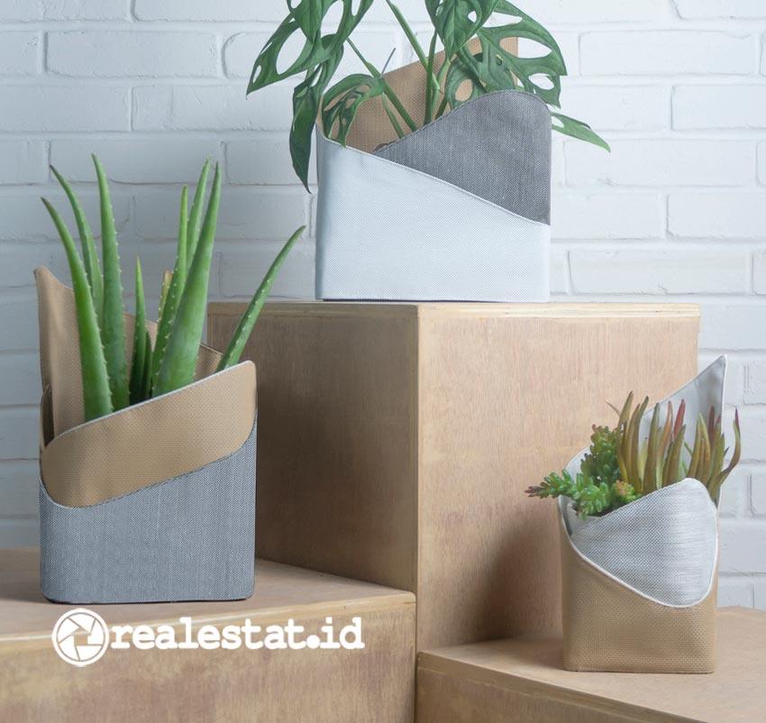 Fold the Pot karya desainer Riri Yakub, menjadi salah satu produk di dalam seri Fold For Earth, yang dibuat dalam rangka memperingati Hari Bumi pada 22 April 2021 lalu. (Foto: dok. Fold)