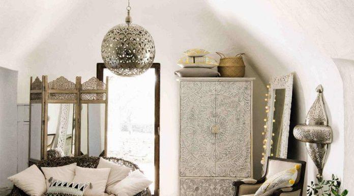 Dekorasi interior bernuansa gaya Maroko bisa menjadi salah satu pilihan ide menata ruangan untuk menyambut Hari Raya Idul Fitri. (Foto: novocom.top)